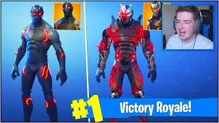 "*NEW* UPGRADED TIER 100 ""OMEGA"" SKIN in Fortnite Battle Royale! (Fortnite Season 4 BATTLE PASS)"