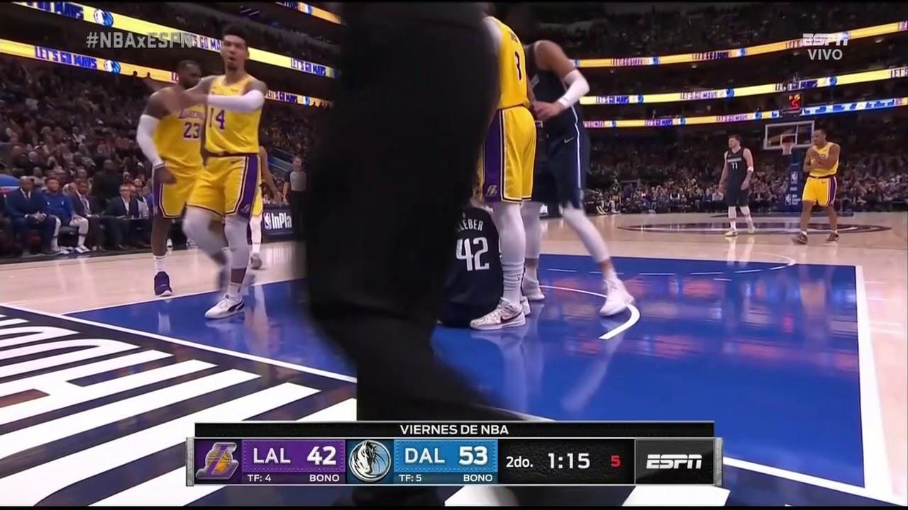 Anthony Davis Full Play 11 01 19 Los Angeles Lakers Vs Dallas Mavericks Smart Highlights