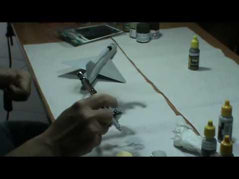 Javier López de Anca - Técnicas de pintura en aviones - AMMO-Mig - Parte I