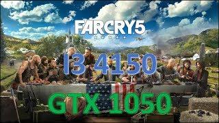 FAR CRY 5 CUSTOM PRESET - (i3 4150 / GTX 1050 / 8GB RAM)