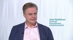MUUSUOMI Asiamies Antti Mykkänen kertoo kuntien ja pienten paikkakuntien asemasta