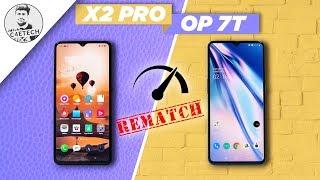 Realme X2 Pro  Ufs 3.0  Vs Oneplus 7t Speedtest Rematch - Omg They're Fast!!!