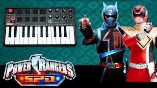 Download Power Rangers | SPD | Theme | Saraavan S