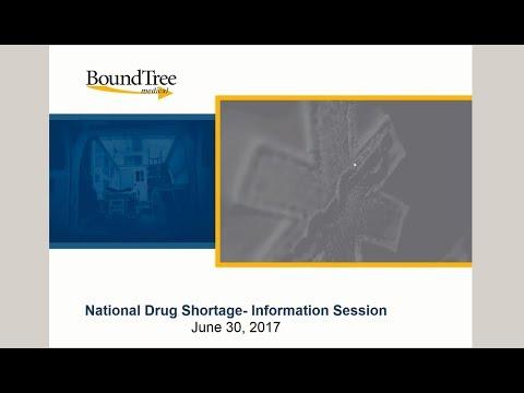 National Drug Shortage Information Session