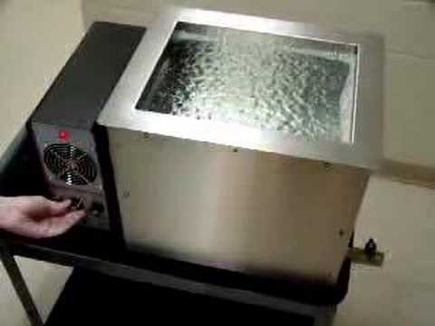 Ultrasonic Cleaning Power Intensity And Modulation Control Youtube
