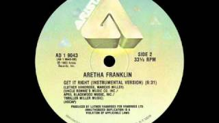 Aretha Franklin - Get It Right (12