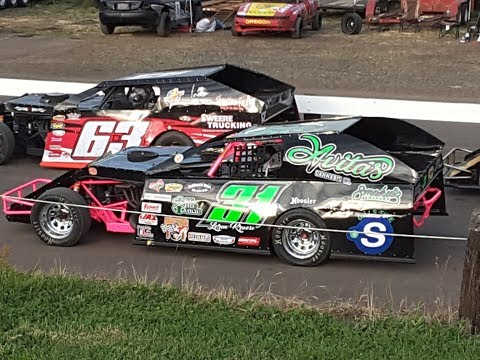 6/1/2018, #31 IMCA Modified Fast Friday Feature at Willamette Speedway - Loren Kruesi