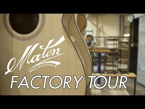 Maton Factory Tour