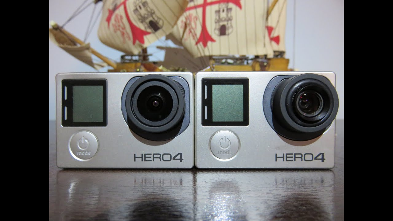 Gopro Hero 5 Vs Hero 4 >> GoPro Hero4 Black, MP-10 5,4mm vs stock 2,8mm lens - YouTube