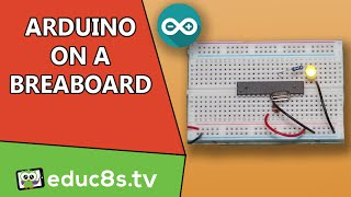 Arduino Uno (ATMEGA328P) on a breadboard Tutorial DIY project Easy guide