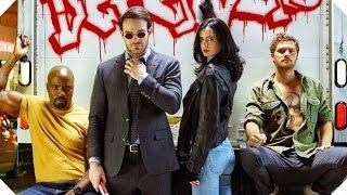 THE DEFENDERS Bande Annonce Teaser (Série Netflix - 2017)