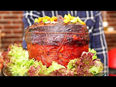 Barbecue Birthday Cake  - You need  this for your birthday!!