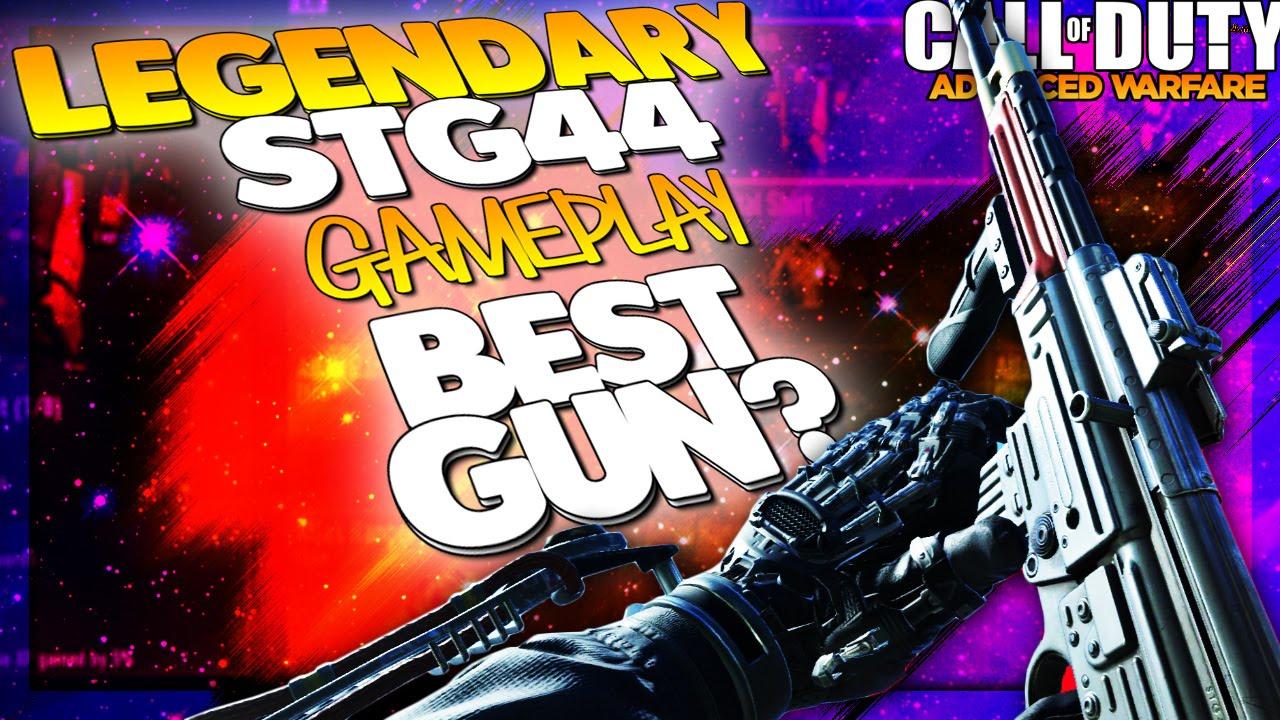 Cod aw legendary stg44 gameplay best gun cod advanced warfare