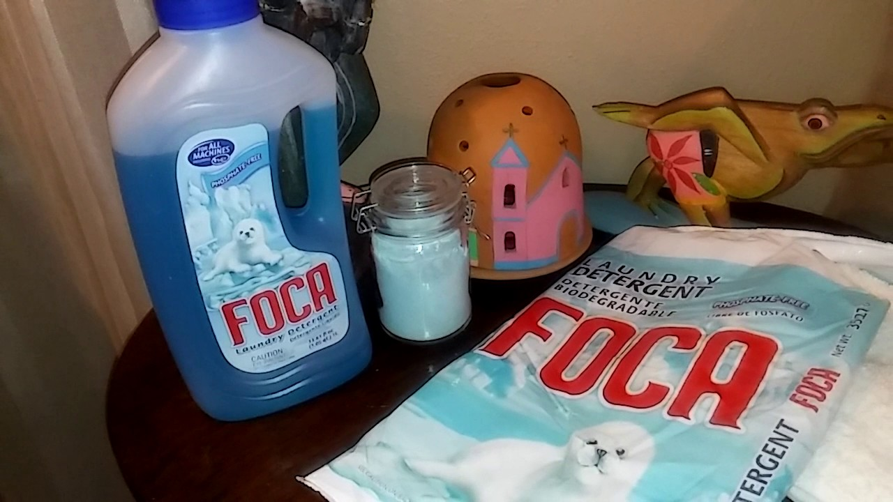 FOCA (Biodegradable laundry detergent )