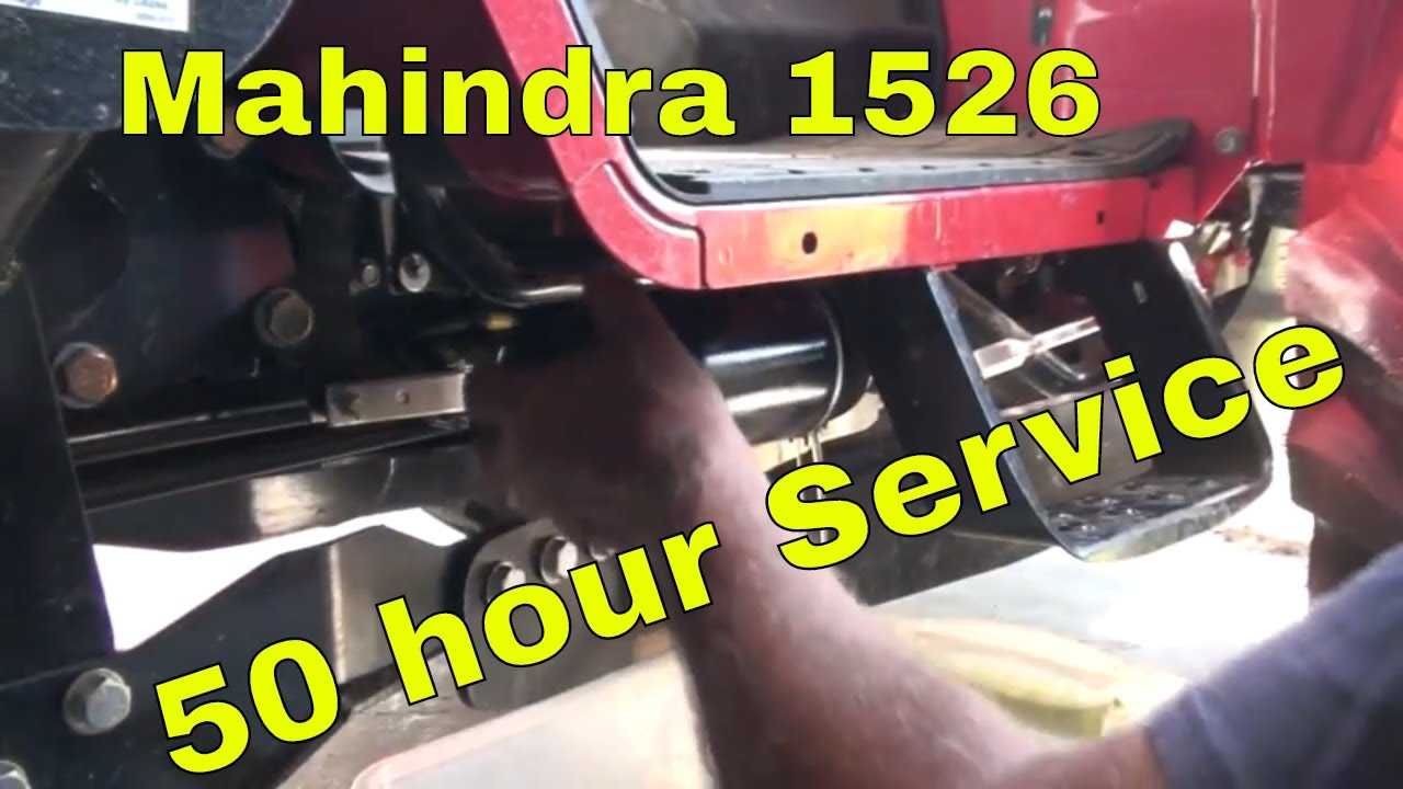 Mahindra 1526 50 hour service
