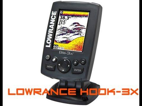 эхолот Lowrance Hook-3x ,обзор , тест на воде