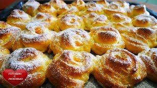 ТВОРОЖНЫЕ ПУШИСТЫЕ булочки с абрикосовым вареньем Вкусные домашние булочкиВыпечка рецепты