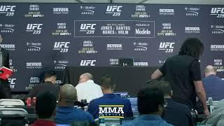 UFC 239 Post-Fight Press Conference Live Stream