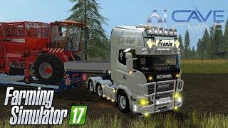 Farming Simulator 2017 Mods - SCANIA V8 Old School Truck