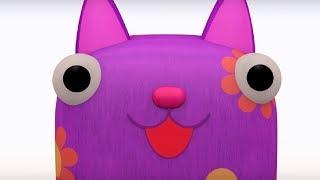 Деревяшки - Домик + Дождь - обучающие мультфильмы для малышей 0-4