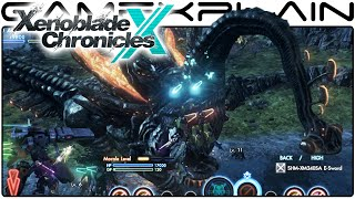 Xenoblade Chronicles X: Flying a Skell out of New LA & Being Stomped by a Decapitated Dino @ Night