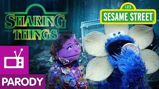 Sesame Street: Sharing Things (Stranger Things Parody)