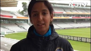 'We Just Want To Play Good Cricket In Finals'  Harmanpreet Kaur To NDTV