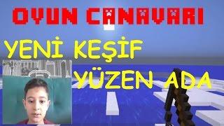 Minecraft Muhteşem Keşif Yüzen Toprak Ada  [ Oyun Canavarı ]