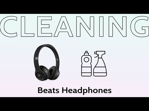 How to clean and polish your Beats By Dre Headphones Ear Pads Cushions Maintenance