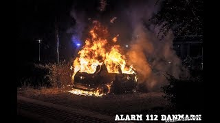 18.07.2019 - Ild i bil - Lyngby