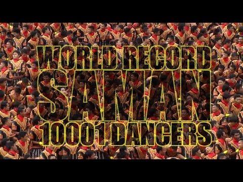FULL! 10001+ SAMAN DANCERS | Rehearsing @1000 Bukit Stadium Blangkejeren Gayo Lues Aceh 12/08/17