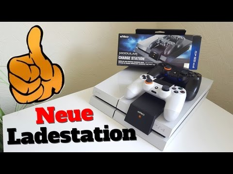 PS4 Ladestation - Controller laden OHNE Kabel - NYKO Modular Charge Station - YouTube
