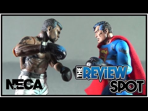 Toy Spot - NECA DC Superman Vs Muhammad Ali Action Figure 2-Pack