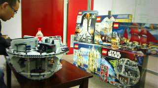 LEGO Star Wars Death Star Build 10188 Review Time Lapse