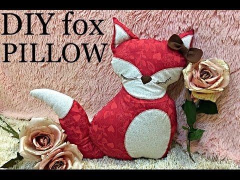 DIY Cute Fox Pillow
