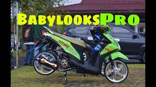 Modifikasi Honda Beat esp Babylook pro