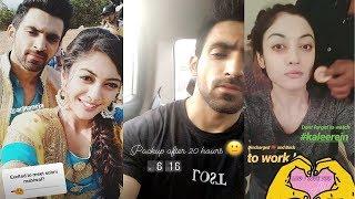 Kaleerein (कलीरें) star cast off screen masti, Aditi Sharma, Arjit Taneja