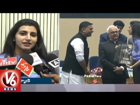 National Energy Conservation Awards Presentation Grandly Held In Delhi | V6 News