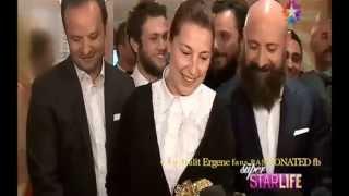 Halit Ergenc and ''MY'' team (Awards) 20.Mgd Altin Objektif Ödül Törenin 2/6/2014