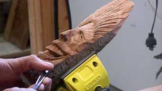 Wood Carving Lesson Video #9 5