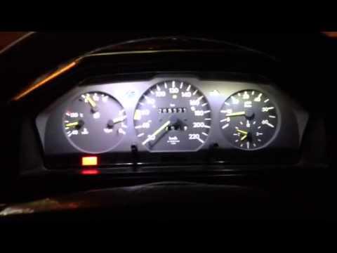 Mercedes W124 Led Tacho Youtube