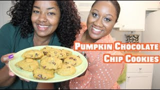 Cooking With Friends: Pumpkin Chocolate Chip Cookies