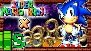 SUPER MARIO BROS. X 🎮 #8: Grüße von Sonic The Hedgehog