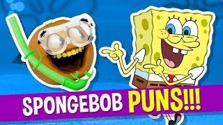 Annoying Orange - Spongebob SquarePUNS   Spongebob Puns!