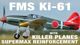FMS KI-61 995mm - Testing the Supermax Crashproofing