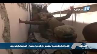 القوات الحكومية العراقية تقتحم آخر الأحياء شمال الموصل القديمة