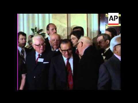 SOCIALISTS INTERNATIONAL CONFERENCE - COLOUR - NO SOUND
