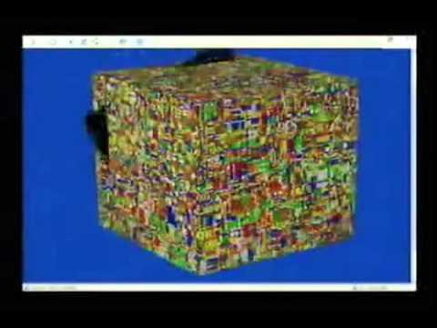 1,000 x 1,000 x 1,000 Rubik's Cube Solve New Version