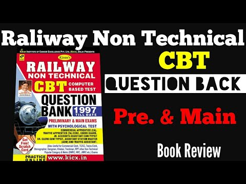 Technical exam books railway non pdf preparation