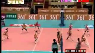 Repeat youtube video اتفاق جالب در والیبال زنان
